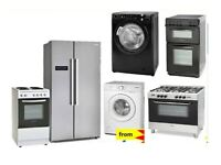 PAY WEEKLY BRAND NEW COOKER, FRIDGE, FREEZER, WASHING MACHINE FROM £7.75 A WEEK