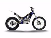 Sherco ST300 2015 road registered trials bike