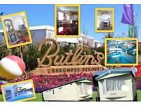BUTLINS SKEGNESS 8 berth static caravan for sale