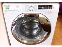 HOOVER - White + Chrome, 8+5kg, 1400 Digital WASHER DRYER + 3 Months Guarantee + FREE LOCAL DELIVERY