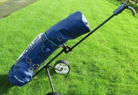 Petron Full Set Golf Clubs, Bag and Trolley