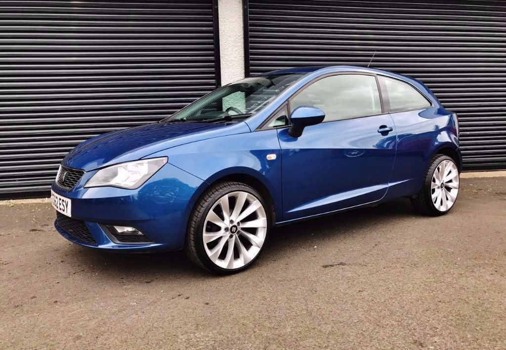 2013 seat ibiza 1 4 se blue 3 door coupe finance available polo in cullybackey county antrim. Black Bedroom Furniture Sets. Home Design Ideas