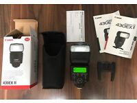 Canon 430EX ii Speedlite flash - New!!