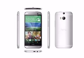 New Unlocked HTC One M8 Silver 16GB Android New Phone sealpack