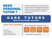 We provide expert tuition for all subjects, we get the best out of our students with Private tutors.
