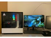 FAST High End Gaming PC: Custom Built(Barely Used!!) & A Monitor, (CHEAP!!)
