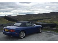 Mazda MX5 1.8 10th Anniversery Edition 6 speed