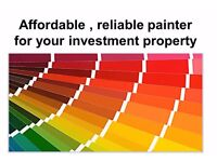 Affordable, reliable painter for your investment property