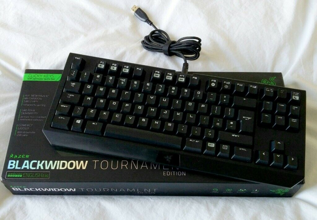 a656614c2bd 4 images Razer BlackWidow Tournament Edition Gaming Keyboard ...