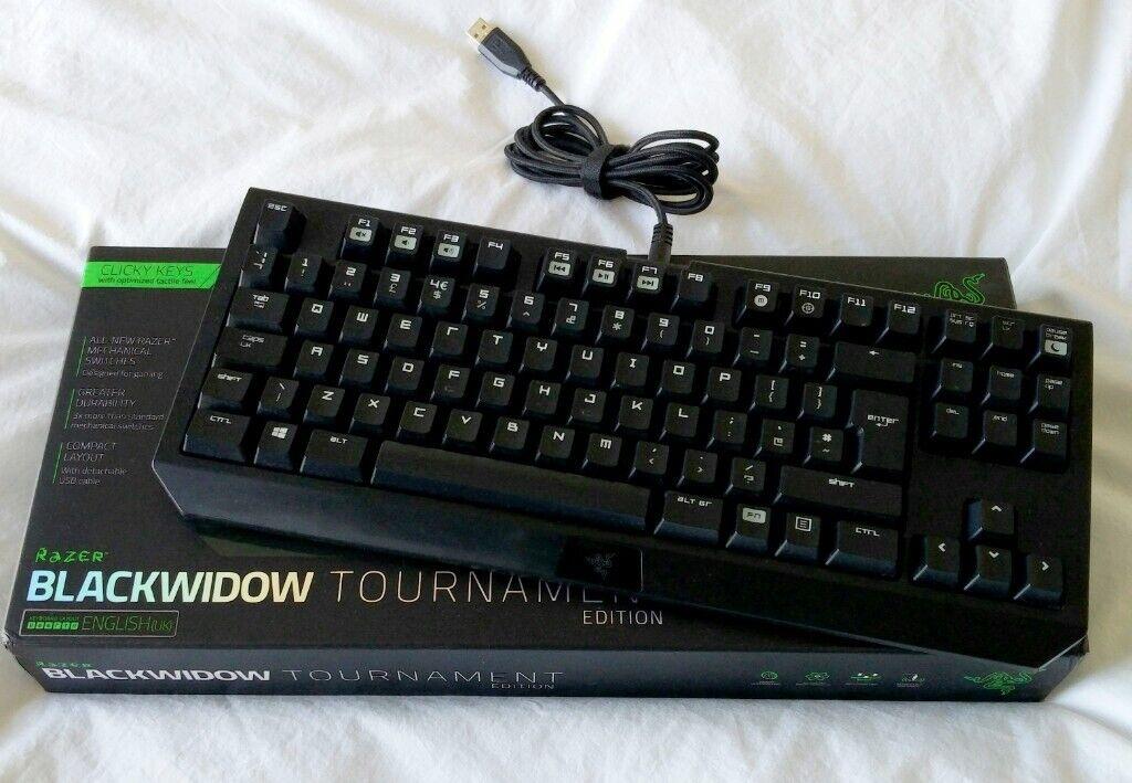 Razer BlackWidow Tournament Edition Gaming Keyboard | in Ramsgate, Kent |  Gumtree