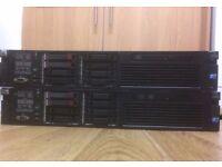 Hp Proliant DL380 G7 Server 2.13Ghz Intel Quad Core cpu 16GB Ram