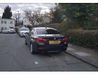 BMW 5 SERIES 520D SE 2.0 AUTOMATIC BLACK