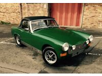 1976 MG Midget - British Racing Green