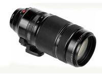 Fuji 100 - 400 F4.5-5.6 LM OIS lens with Fuji 1.4 Teleconverter