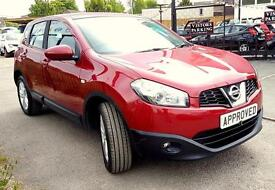 NISSAN QASHQAI 1.5 ACENTA DCI 5d 110 BHP Apply for finance Online (red) 2011