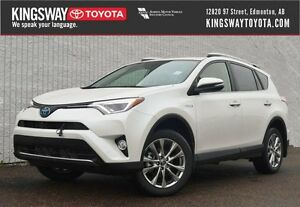 2016 Toyota RAV4 Hybrid Limited Technology Package-WITH EXTRAS!