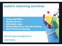 katie's cleaning services