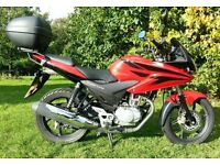 125cc Honda CBF 125 Low Miles Learner Legal Motorbike Excellent Condition (not Yamaha YZF YBR KTM)