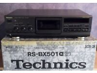 Technics RS-BX 501 Cassette Deck Hi-Fi Separate In Excellent Condition. *Open To Offers*