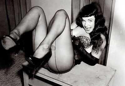 BETTIE PAGE 8X10 GLOSSY PHOTO PICTURE IMAGE #3