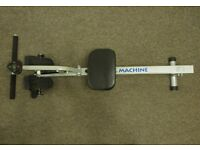 Rowing machine exercise slim fast burn fat adjustable lightweight FREE DELIVERY WITHIN LE3