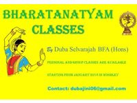 Bharatanatyam classes in Woodley, Reading