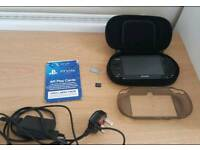 Sony PS Vita (3G/Wi-Fi) with 8Gb Memory Card and accessories