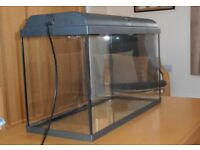 120L Interpet tank and lid