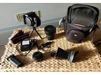 Canon 650D with Fisheye, 40mm lens & more