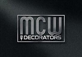 PROFESSIONAL EXPERIENCED PAINTERS & DECORATORS & PLASTERERS - MCW DECORATORS - FREE QUOTE