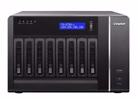 QNAP NAS STORAGE MODEL TS-879 PRO; fully operational at latest rev