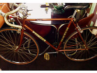 Vintage Raleigh Magnum racer bike, cool Hipster style