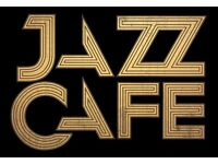 THE ICONIC JAZZ CAFE, CAMDEN TOWN RECRUITING BAR STAFF NOW!