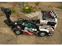 RC CAR NITRO THUNDER TIGER MAN TRUCK