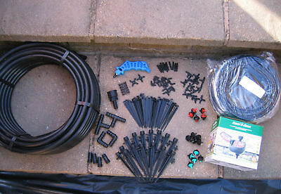 Irrigation Dripper Kit complete with Digital Tap Timer  20-30 pots