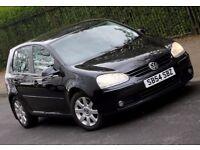 2004 54 VOLKSWAGEN GOLF 2.0 GT TDI Diesel 5 Doors BLACK, 2 Owners, hpi clear