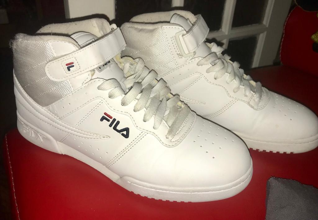 ... 100% authentic Fila Exclusive F13 trainers Triple White UK 9 in  Camberwell 9d9f00949