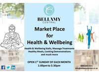 Market Stall Traders wanted for the Market Place for Health & Wellbeing, Upper Street, Islington