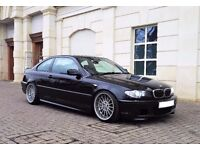E46 330Cd M Sport Sapphire Black 6 Speed Manual *Lots of new parts*