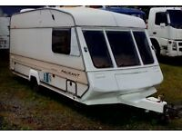 Bailey Cabriolet 1991 2 Berth Touring Caravan