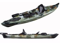 Pro Angler Ocean Kayak Fishing kayak 3.6m paddle seat rudder