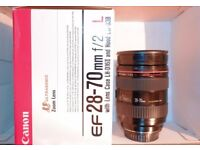 Canon 28-70mm L f.28 Lens for sale  West Sussex