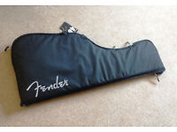 Fender Strat/Tele gigbag BRAND NEW with tags ( Part number 099-1612-001)