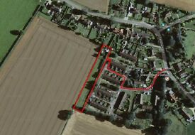 Half Acre Land Paddock For Rent To Let - Near Bury St Edmunds, Suffolk