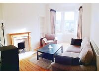 (viewing 21st Feb) to let Morningside Gardens flat FULLY FURNISHED 1 large double + 1 large box room