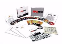 Mad Men - The Complete Series 1-7 - Collectors Edition Blu-ray Boxset - NEW - Bluray Box Set TV Show