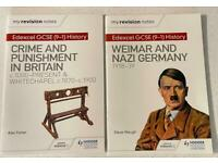 Edexcel GCSE (9-1) revision notes - Crime and Punishment in Britain and Weimar and Nazi Germany