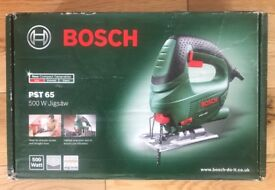 Boxed BOSCH 500 Watt Jigsaw only been used once - Model PST 65 for £15.00