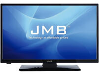 24 inch JMB HD LED TV With DVD and Freeview