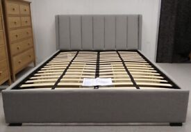 73eccc31d922 John Lewis BOW Slatted Headboard Bed Frame King Size Oak | in Bury ...